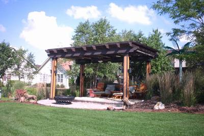 Garden Design With Pergola Design Ideas: Material, Color, Shape, Size St.