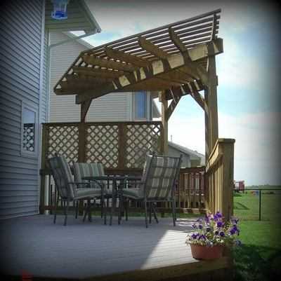 Pergola Design Ideas Material Color Shape Size St