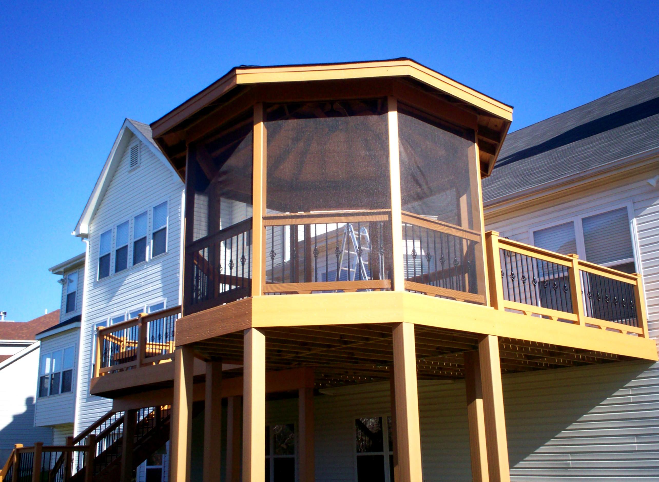 pavilions st louis decks screened porches pergolas by archadeck