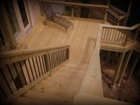Pressure Treated Two Story Decks by Archadeck, St. Louis, St. Charles Mo