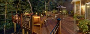 Decks with Lighting by Archadeck