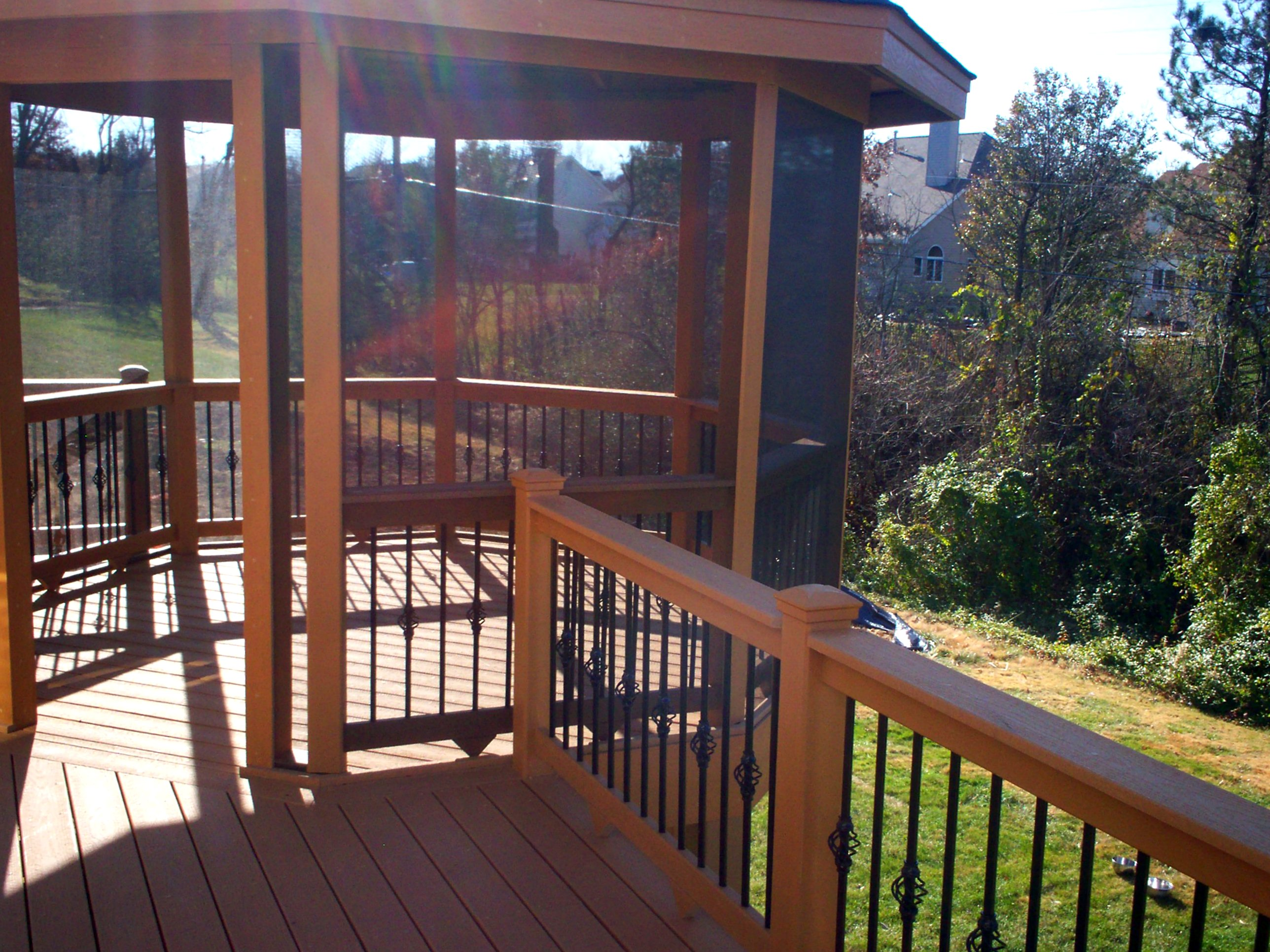 301 moved permanently for Deck with gazebo