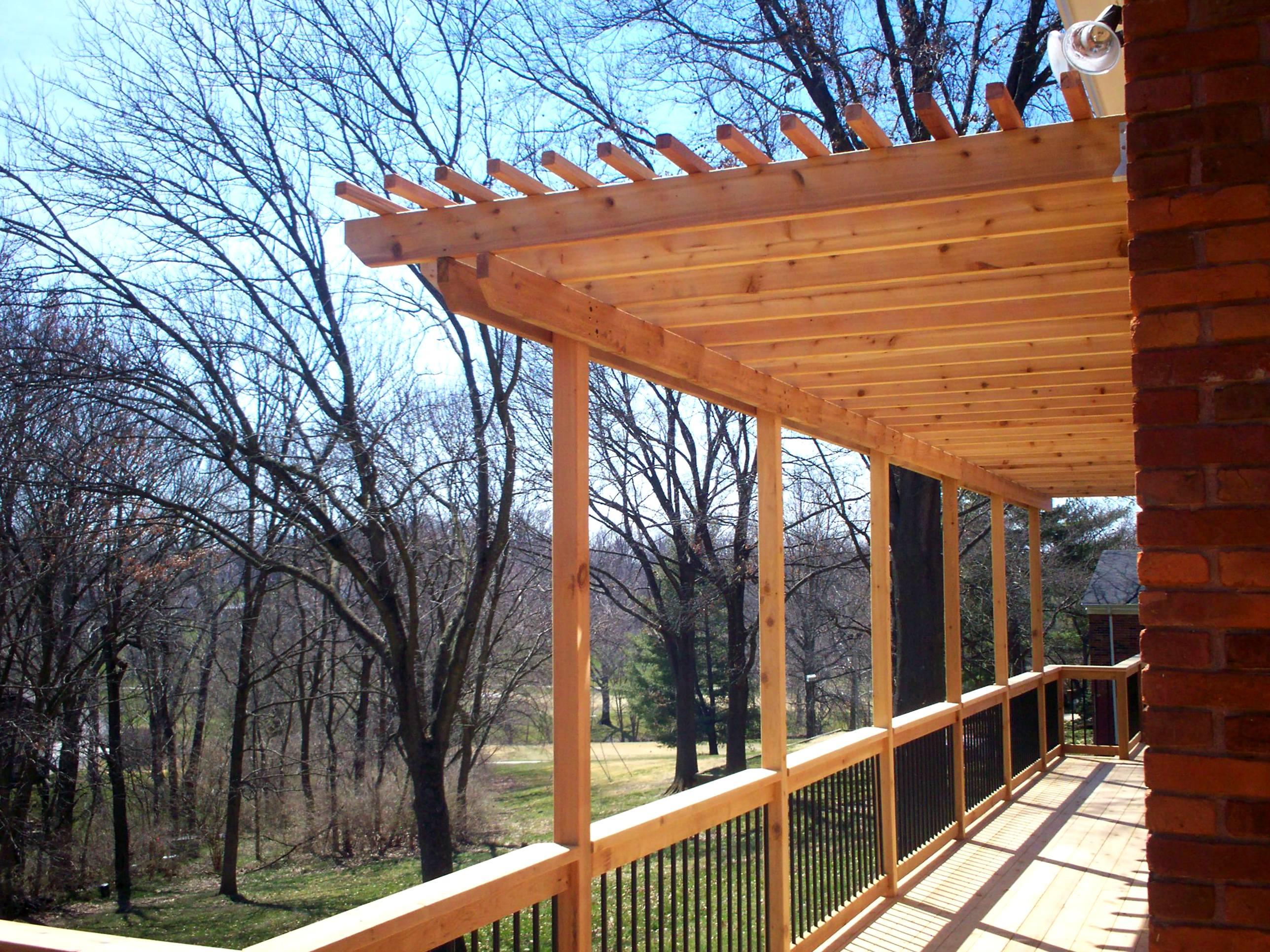 cedar decking | St. Louis decks, screened porches ... - photo#9