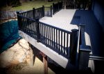 Deck in St. Louis, TimberTech Terrain with Black Radiance Railing