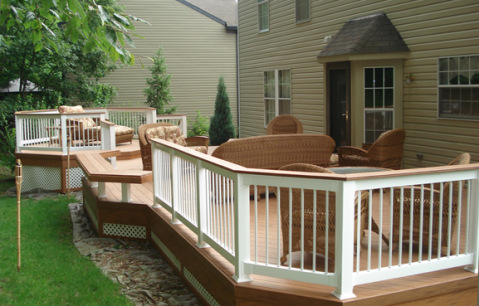 Deck Ideas For A Small Backyard St Louis Decks Screened Porches Pergolas By Archadeck