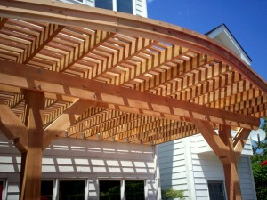 Curved Pergolas by Archadeck, St. Louis Mo, Wildwood