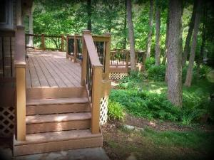 Deck Designs with Curves, St. Louis Mo, by Archadeck