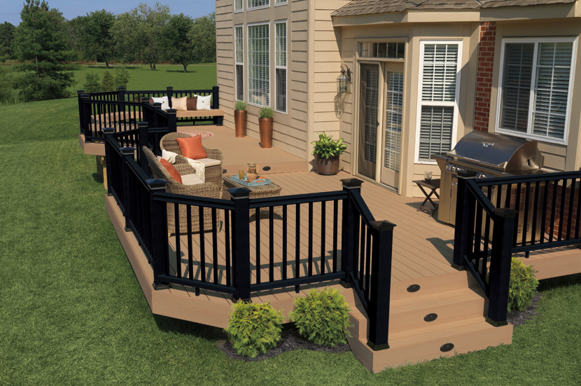 Outside On Pinterest Railings Decking And Decks