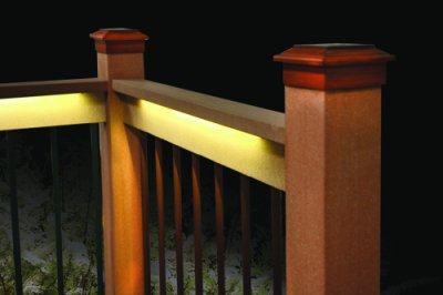 Deck Lighting: Add lights for evening enjoyment out on the