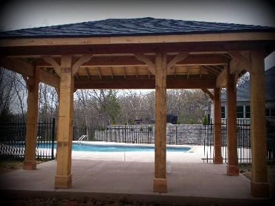 Backyard Pavilions St Louis Decks Screened Porches