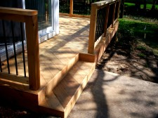 Cedar Wood Decks, St. Louis Mo, by Archadeck