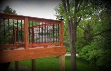 Decks by Archadeck, St. Louis Mo, Tigerwood Decking