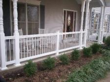 Front Porch with Vinyl Columns, St. Louis, Mo, by Archadeck