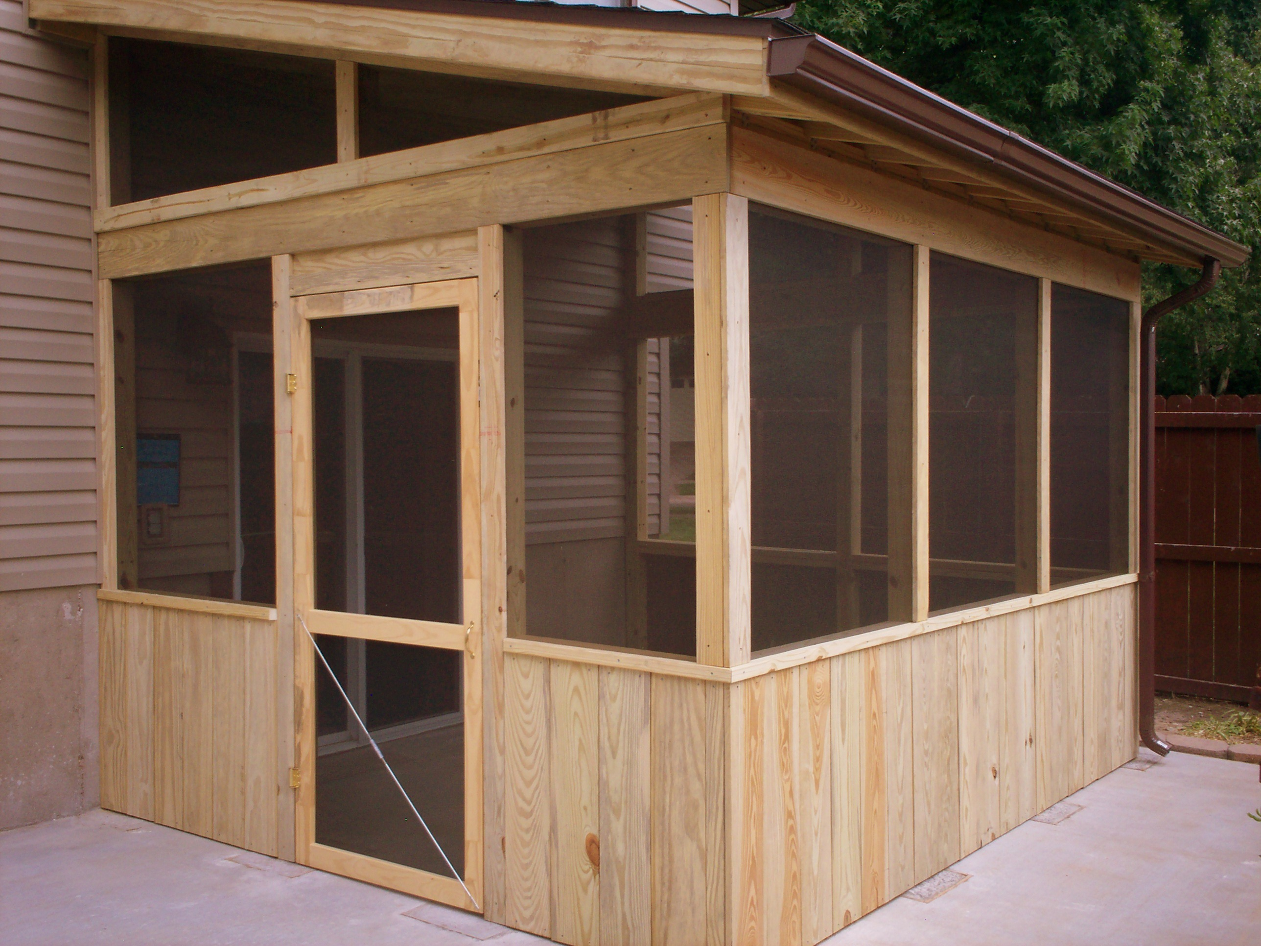 Screen House Shed Plans Plans 8 x 10 shed kit | PDF Wood