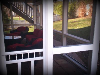 St. Louis, Mo   Vinyl Screened Room Over Patio By Archadeck