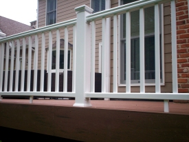 TimberTech Terrain Deck and Radiance Rail by Archadeck, St. Louis Mo
