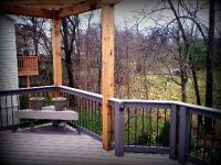 Corner Pergola for Deck, St. Charles Mo, by Archadeck