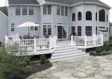 Custom Deck Designs by Archadeck with Transitions