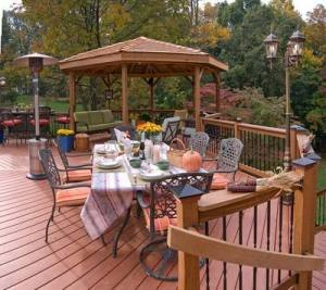 Deck with Gazebo by Archadeck