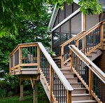 Elevated Deck and Screened Porch by Archadeck