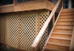 Decks Designed with Under Deck Storage, St. Louis Mo