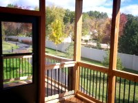 Screened In Deck, St. Louis West County, by Archadeck