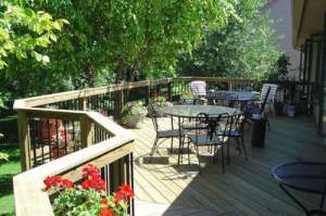 Pressure Treated Wood Decks by Archadeck