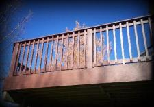 St. Louis Decks, Railing, Low Maintenance