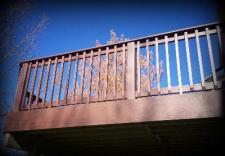 St. Louis Decks, Railing, Low Maintenance