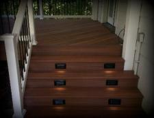 Deck Design, Step Riser Lighting, St. Louis Mo
