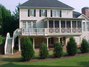 Deck with Screened Porch by Archadeck