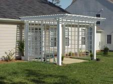 Pergolas, Outdoor Rooms, Lattice Screen, Archadeck