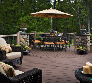 Custom Deck Designed and Built by Archadeck