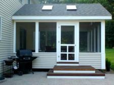 Screened-in Back Porch by Archadeck