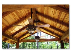 Screened In Porch with Rafter Ceiling by Archadeck