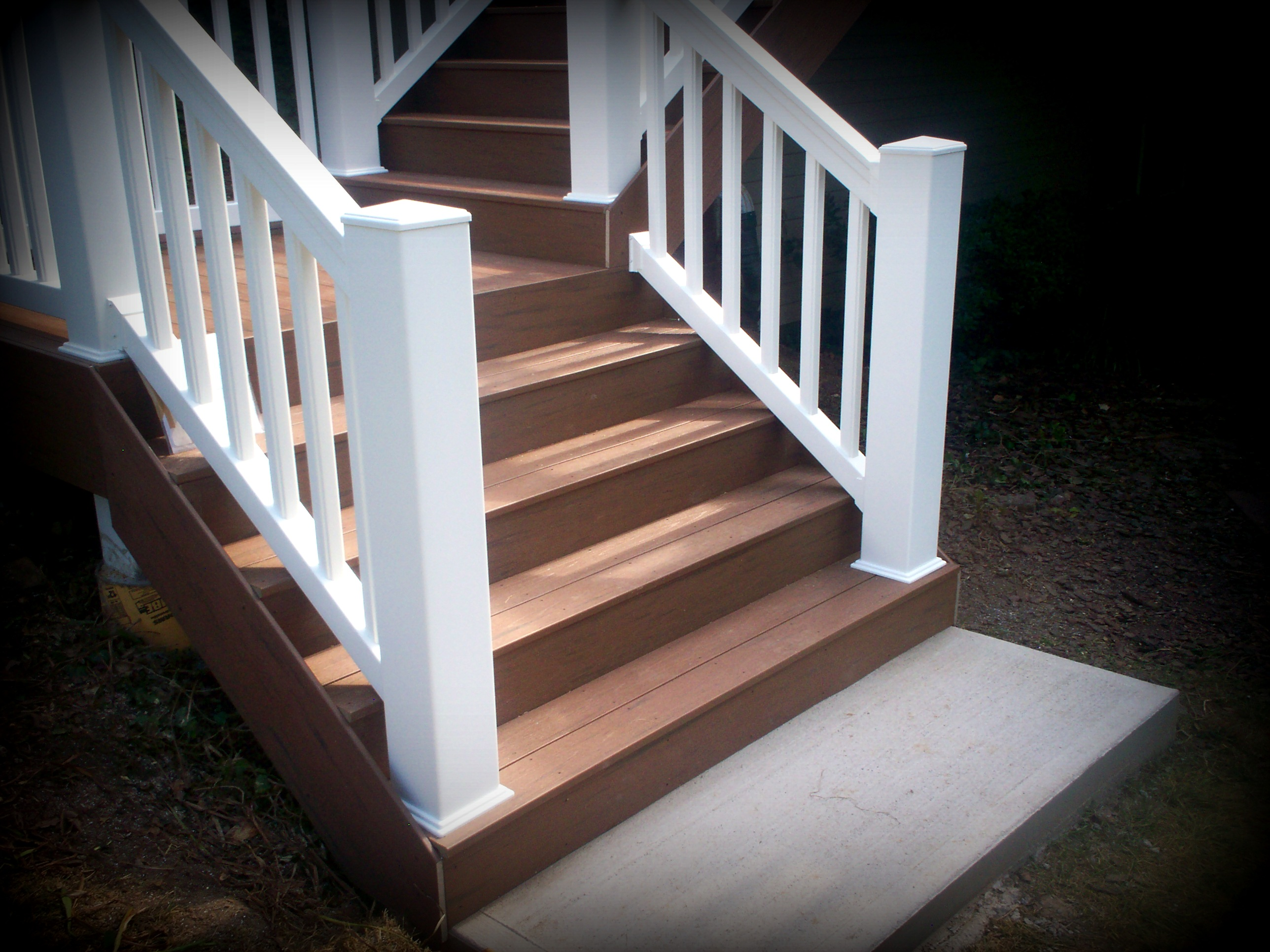 Vinyl decking st louis decks screened porches for Capped composite decking prices