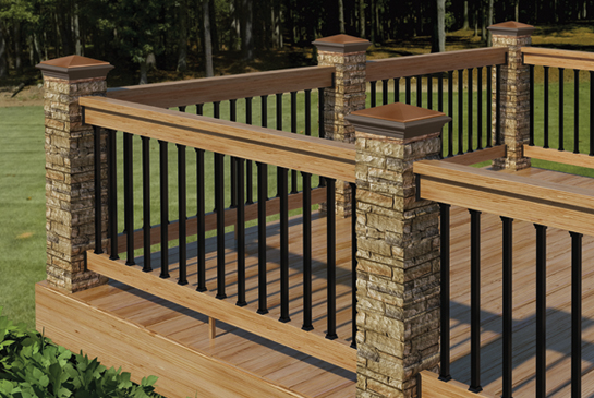 Unique Deck Railing Ideas