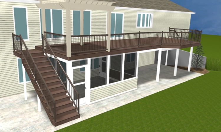 St Louis Mo Deck Vs Patio Vs Patio Enclosure St