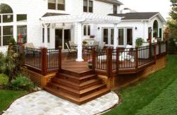 Decks with Pergolas, Designed and Built by Archadeck