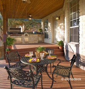 Outdoor Dining Room by Archadeck