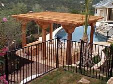 Poolside Pergola Designed with Heavy Timber By Archadeck