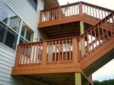 Two Story Composite Deck by Archadeck, St. Louis