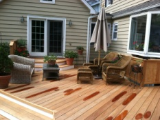 Garapa Decking for Outdoor Living Room, project by Archadeck