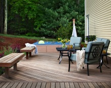 Hardwood Deck Project by Archadeck