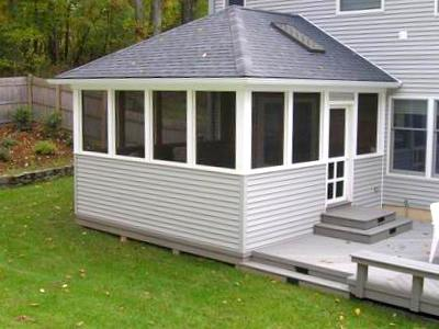 Screened porch roofs st louis decks screened porches pergolas by archadeck - Screen porch roof set ...