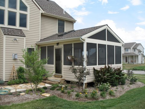 Screen porch roofing options by archadeck st louis decks screened