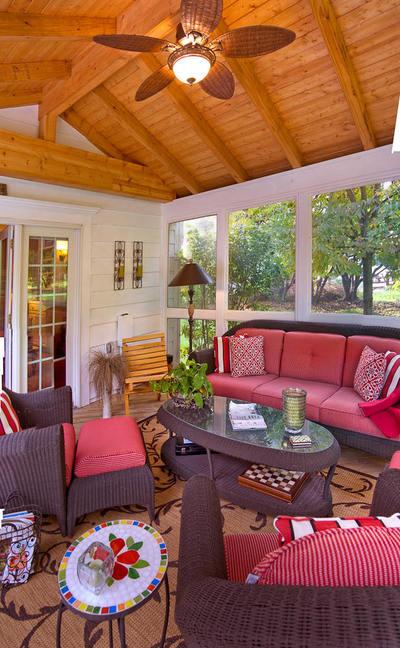 April 2014 st louis decks screened porches pergolas for Screened in sunroom