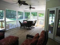 Screened Porch with Flat Ceiling by Archadeck