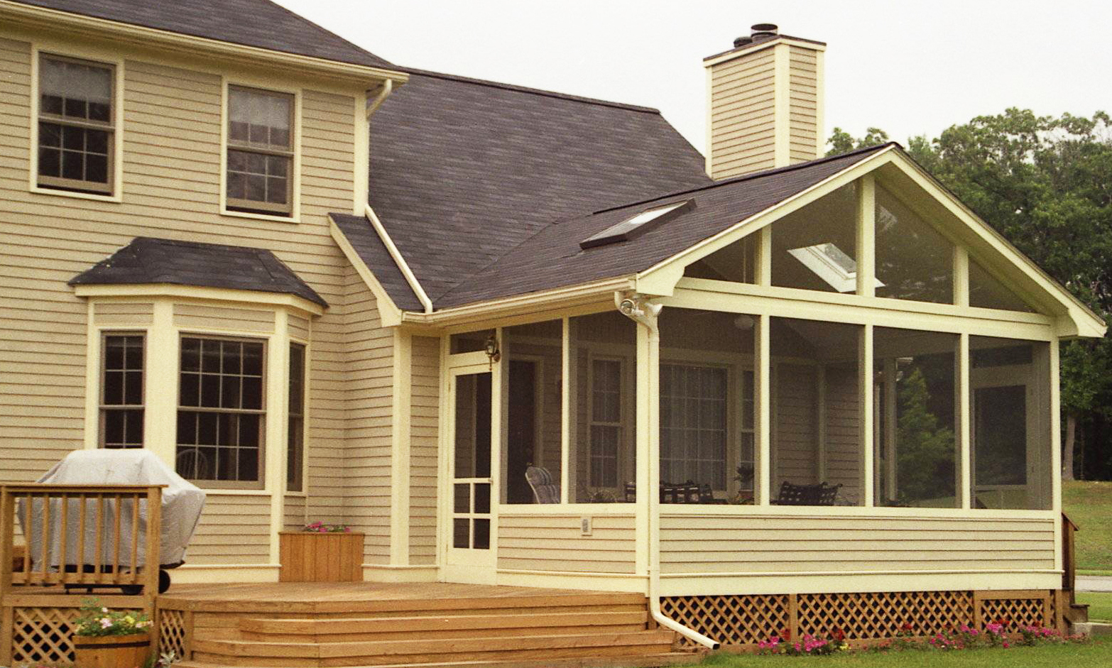 Screened Porches With Roof Tie Ins By Archadeck