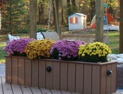 Custom Deck Planter by Archadeck